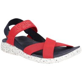 Sandały 4F W H4L19-SAD002 36S czerwony czerwone