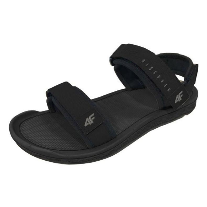Sandały 4F M H4L19-SAM001 20S czarny czarne