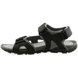 Czarne Sandały 4F M H4L19-SAM003 20S czarny