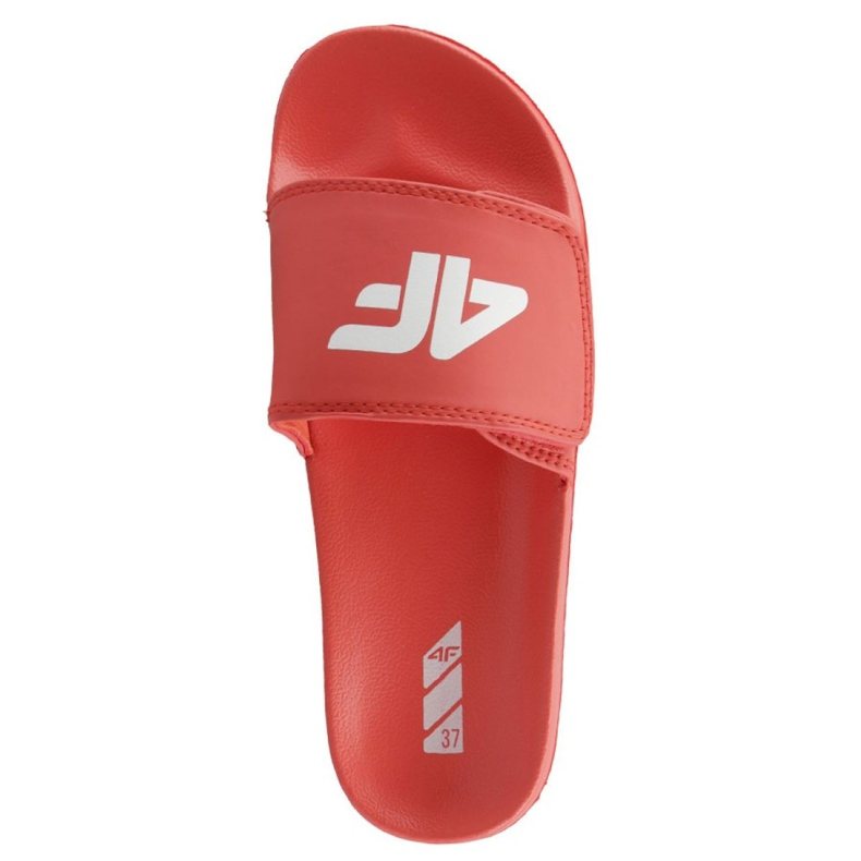 Klapki 4F Jr J4L19-JKLD200 62S czerwony czerwone