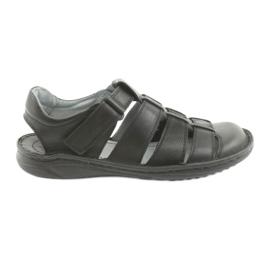 Sandały męskie sportowe Riko 619 czarne