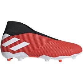 Buty piłkarskie adidas Nemeziz 19.3 Ll Fg M F99997 czerwone czerwone