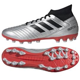 Buty piłkarskie adidas Predator 19.3 Ag M F99989 wielokolorowe srebrny