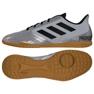 Buty halowe adidas Predator 19.4 In M F35630 czarny, szary/srebrny szare