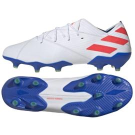 Buty piłkarskie adidas Nemeziz Messi 19.1 Fg M F34402 białe białe