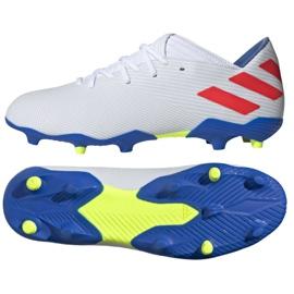 Buty piłkarskie adidas Nemeziz Messi 19.3 Fg M F34400 biały białe