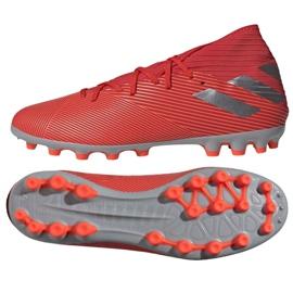 Buty piłkarskie adidas Nemeziz 19.3 Ag M F99994 czerwone czerwone