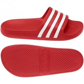 Klapki adidas Adilette Aqua F35540 czerwone