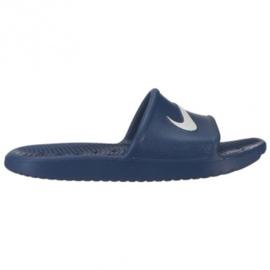 Granatowe Klapki Nike Kawa Shower W BQ6831-401