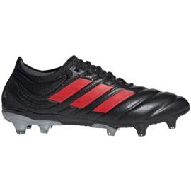 Buty piłkarskie adidas Copa 19.1 Fg M F35518 czarne wielokolorowe