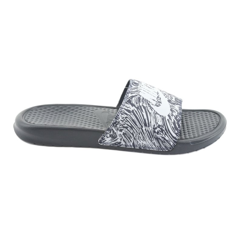 Klapki Nike Benassi Just Do It Print 631261-403