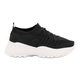 Czarne Wsuwane Sneakersy VICES