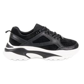 Czarne Sneakersy VICES