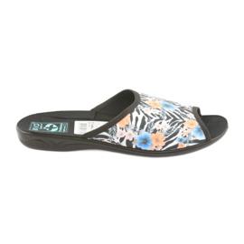 Kapcie damskie zebra Adanex 23877