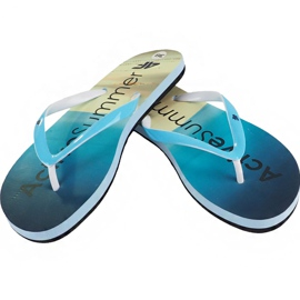 Klapki 4f W H4L19-KLD004 34S jasny niebieski