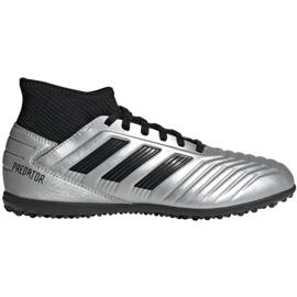Buty piłkarskie adidas Predator 19.3 Tf Jr G25802 wielokolorowe srebrny