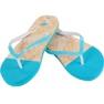 Klapki 4f W H4L19-KLD003 34S jasny niebieski niebieskie