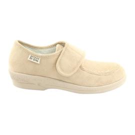 Brązowe Befado obuwie damskie pu 984D011
