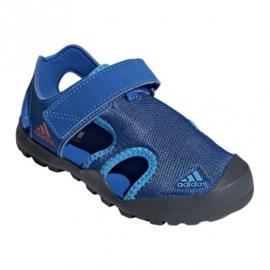 Sandały adidas Capitan Toey Jr BC0703 niebieskie