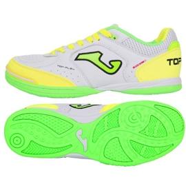 Buty halowe Joma Top Flex 920 In TOPW.920.IN białe biały, zielony, żółty