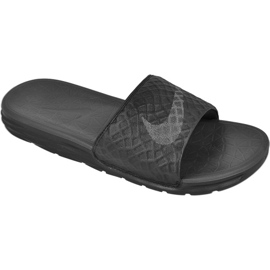Czarne Klapki Nike Sportswear Solarsoft Benassi M 705474-091