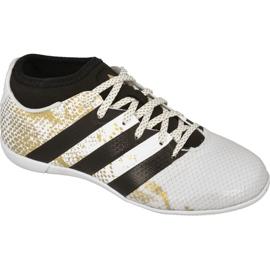 Buty halowe adidas Ace 16.3 Primemesh In Jr AQ3427 białe biały
