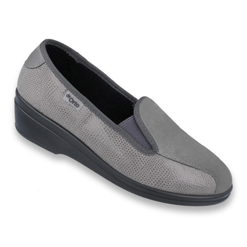 Befado obuwie damskie pu 034D003 szare