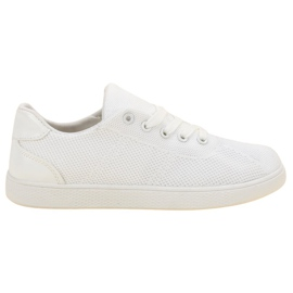 SDS białe Tekstylne Buty Sportowe