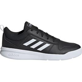 Czarne Buty adidas Tensaur K Jr EF1084