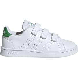 Białe Buty adidas Advantage C Jr EF0223