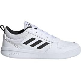 Białe Buty adidas Tensaur K Jr EF1085