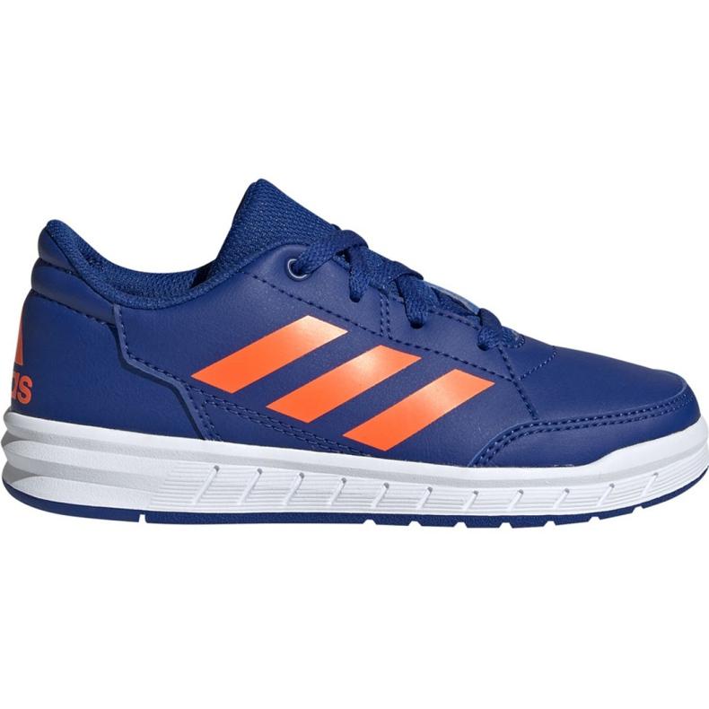 Buty adidas AltaSport K Jr G27095 niebieskie