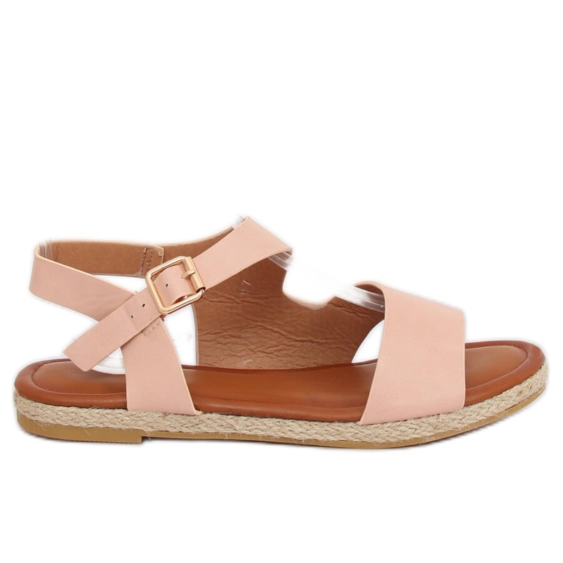 Sandałki damskie różowe H-7 Pink