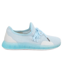 Buty sportowe niebieskie B-6851 Blue