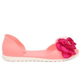 Baleriny meliski różowe W-13 Pink