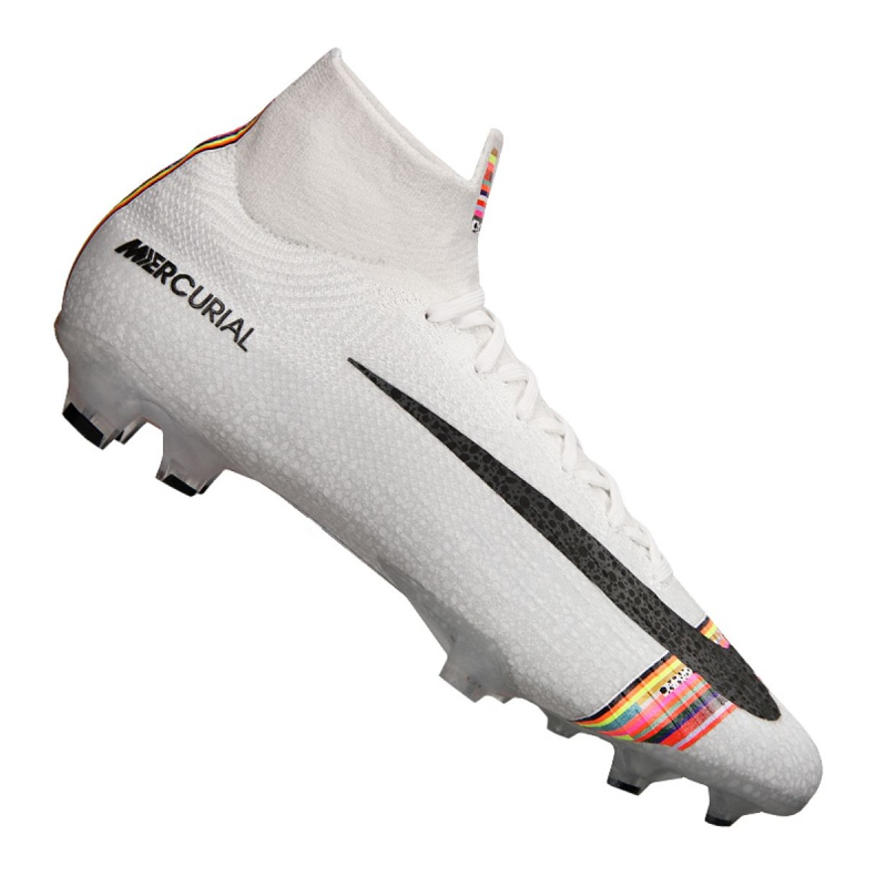 Buty piłkarskie Nike Superfly 6 Elite Fg M AJ3547-009 białe białe