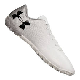 Buty piłkarskie Under Armour Magnetico Select Tf M 3000116-100 białe biały
