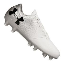 Buty piłkarskie Under Armour Magnetico Select Fg Jr 3000122-100 biały białe
