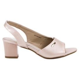 Goodin brązowe Eleganckie Wsuwane Sandały