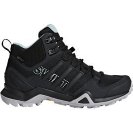 Czarne Buty trekkingowe adidas Terrex Swift R2 Mid Gtx W CM7651