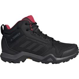 Czarne Buty trekkingowe adidas Terrex AX3 Mid Gtx W BC0590