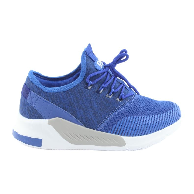 Niebieskie Buty sportowe męskie DK 18470 royal blue