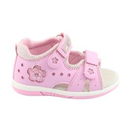 Sandałki dziewczęce American Club DR20 różowe
