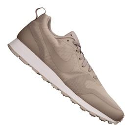 Brązowe Buty Nike Md Runner 2 19 M AO0265-200