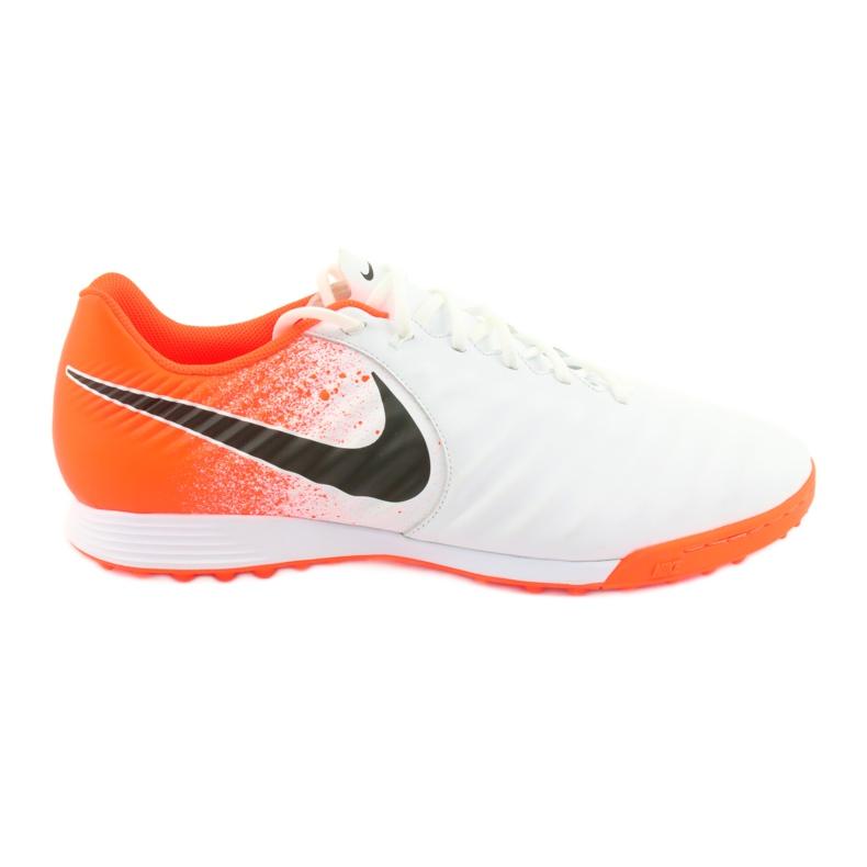 Buty piłkarskie Nike Tiempo LegendX 7 Academy Tf M AH7243-118 białe