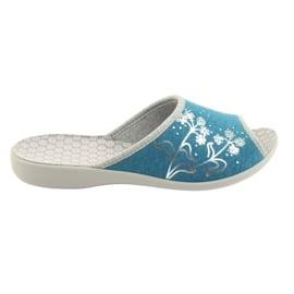 Niebieskie Befado obuwie damskie pu 254D102