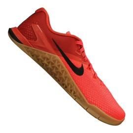 Czerwone Buty treningowe Nike Metcon 4 Xd M BV1636-600