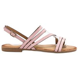 Primavera Klasyczne Różowe Sandały