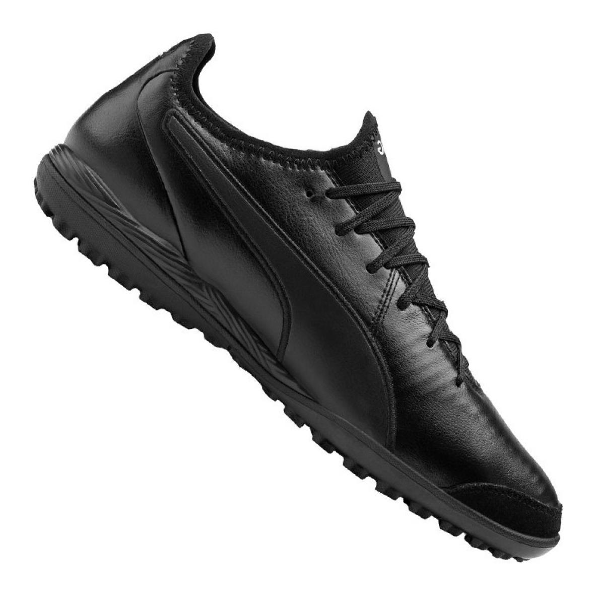 Buty piłkarskie Puma King Pro Tt M 105668 01 czarne czarny