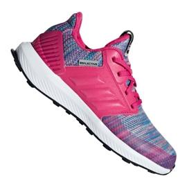 Różowe Buty adidas RapidaRun Btw Jr AH2603